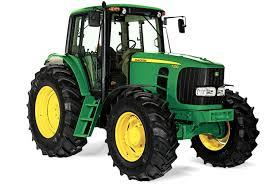 Tractor groen